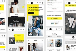 SUP - Fashion Ecommerce UI Kit