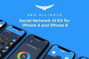 Bro Alliance iOS UI Kit