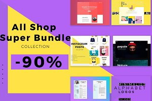 All Shop Super Bundle -90%