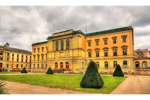 Uni Bastions, the oldest building of the University of Geneva -