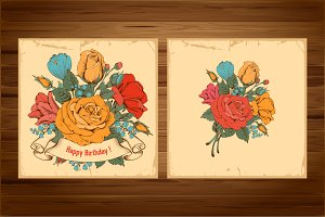 ✿ Vintage bouquet ✿
