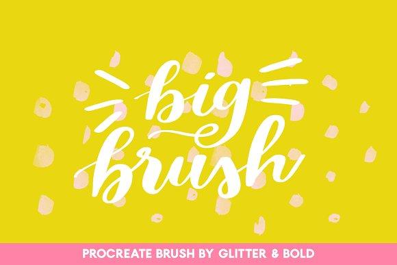 Big Brushy For Procreate Lettering