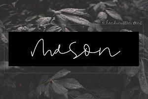 Mason - Handwritten Signature Font
