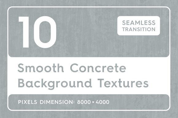 Smooth Concrete Background Textures
