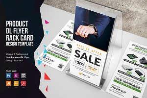 Product Promotion Rackcard DL Flyer