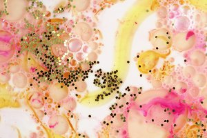 Colorful blots. Abstract background.