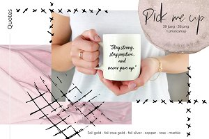 "Quotes ""Pick me up"" collection"