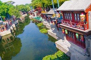 Suzhou Street in Beijing, China