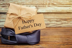 Happy father's day. Congratulations.