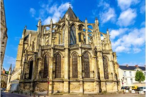 Saint Gatien's Cathedral in Tours - France