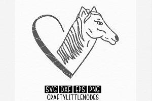 Horse Heart Clipart