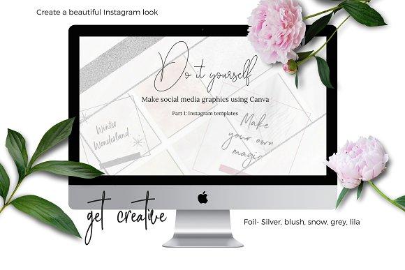 DIY Instagram graphics using Canva