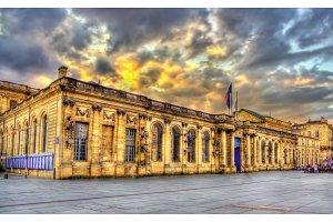 Palais Rohan, the City Hall of Bordeaux - France