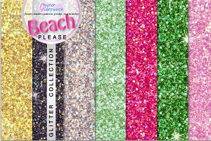 Beach Please Glitter Set