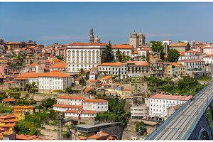 View of Porto old town, Portugal