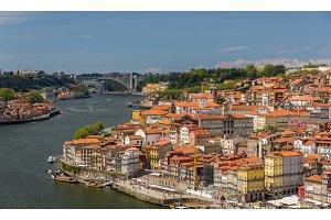 The historic center of Porto, Portugal