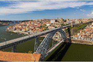 Porto with Dom Luis Bridge - Portugal