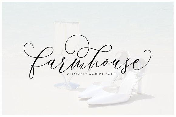 Farmhouse Script