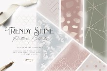 Trendy Shine Pattern Collection by Julia Dreams in Patterns
