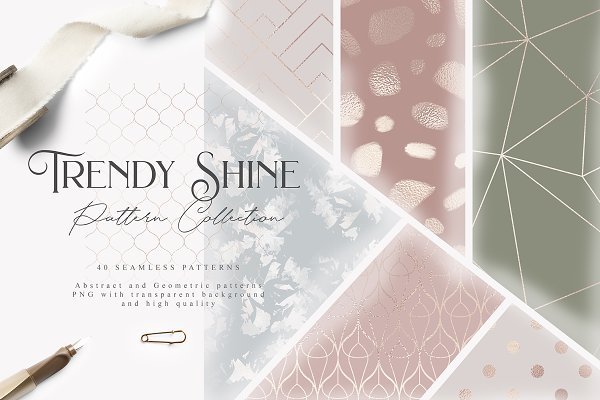 Patterns: Julia Dreams - Trendy Shine Pattern Collection
