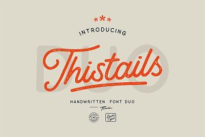 Thistails Font Duo