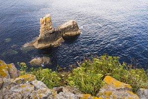 Coastal detail in Galicia, Spain