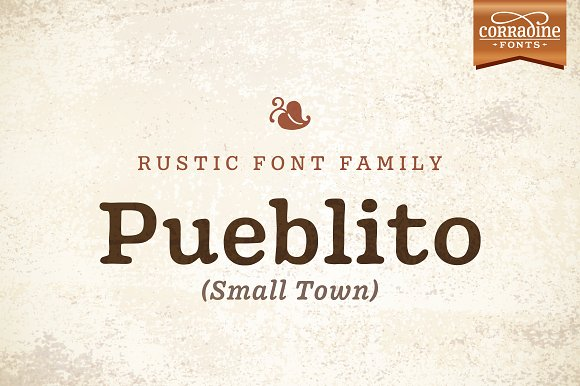 Pueblito Font Family