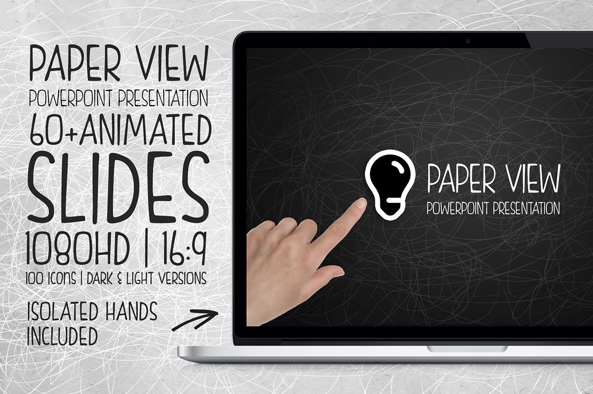 Paper view powerpoint presentation presentation templates paper view powerpoint presentation presentation templates creative market toneelgroepblik Images