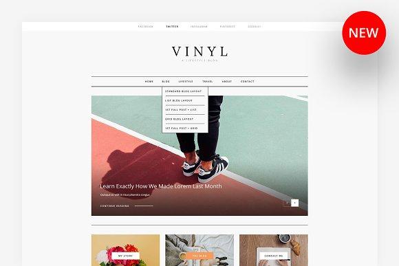 Vinyl A Lifestyle Blog