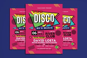 Retro Music Disco Party