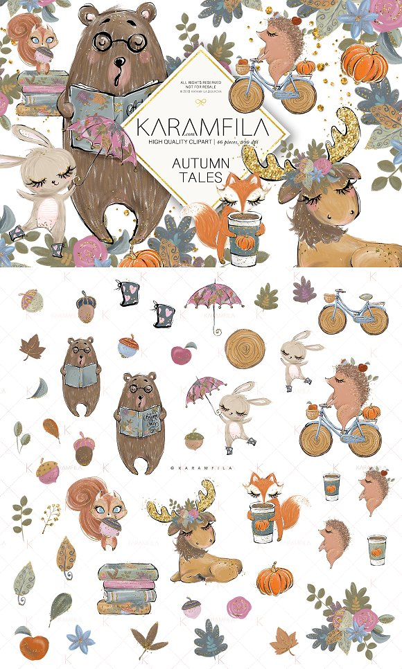 Forest Fall Clipart