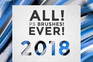 ALL! PS BRUSHES! EVER!