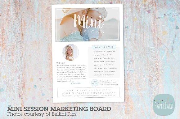 IB007 Mini Sessions Marketing Board