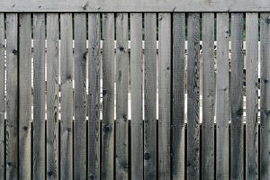 Weathered wooden fence background