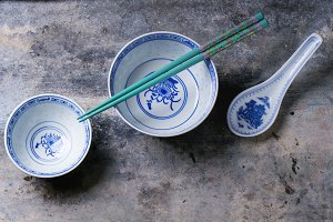 Asian style tableware