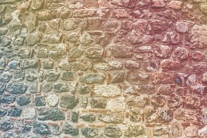 Part of old stone wall background
