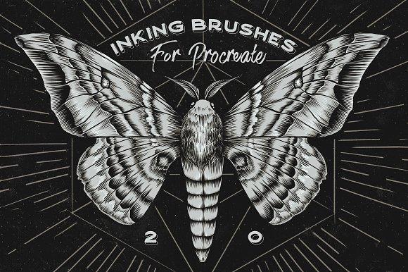 Procreate Inking Brushes Set Of 20