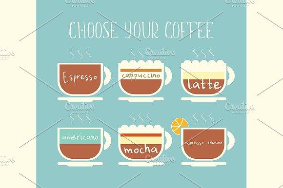 Coffee Menu EPS And JPEG