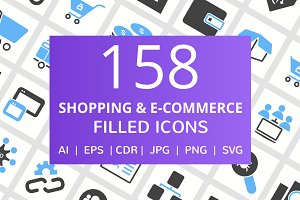 158 Shopping & ECommerce Filled Icon