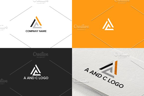 Simple Logo Design For Letter A