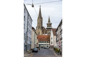 View of Ulm Minster - Germany, Baden-Wurttemberg