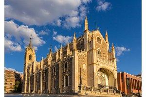 Church San Jeronimo el Realo in Madrid, Spain