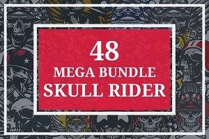 48 MEGA BUNDLE SKULL RIDER