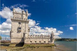 Belem tower in Lisbon - Portugal