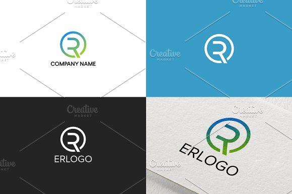 Simple Letter R Logo Design