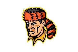 Davy Crockett Mascot