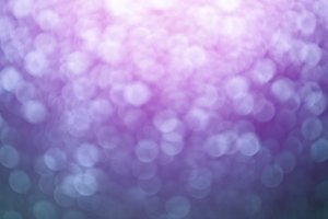 purple bokeh
