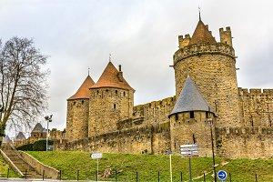 Carcassonne town walls - France, Languedoc-Roussillon