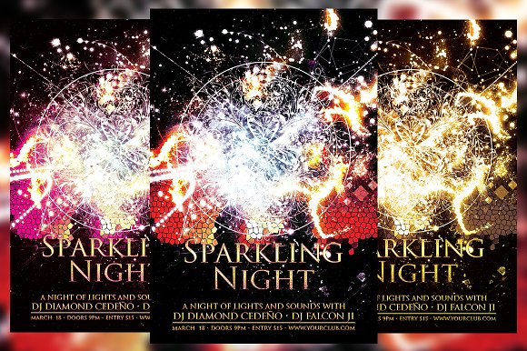 Sparkling Night Flyer