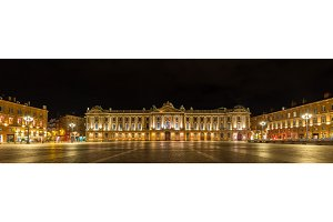 Place du Capitole in Toulouse - France